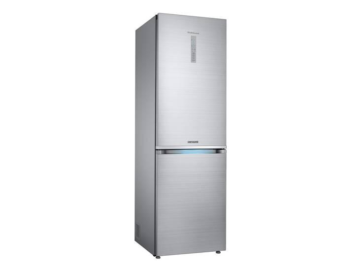 Above Samsung Chef Collection Counter Depth Refrigerator Has