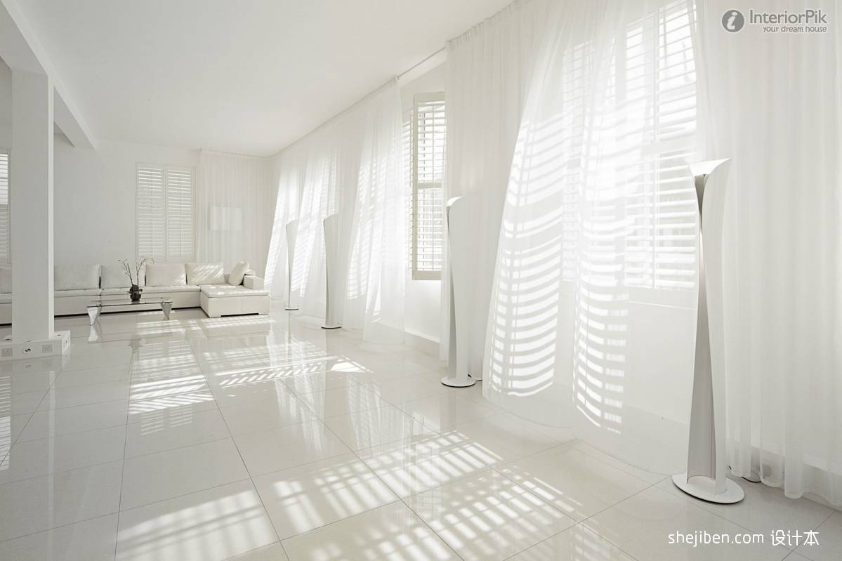 Amazing White Curtains Curtain Living Room Effect Chart
