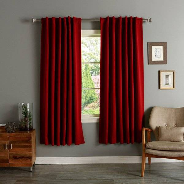 Aurora Home Insulated Inch Thermal Blackout Curtain