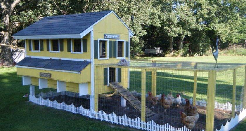Awesome Chicken Coop Yard Ideas Pinterest