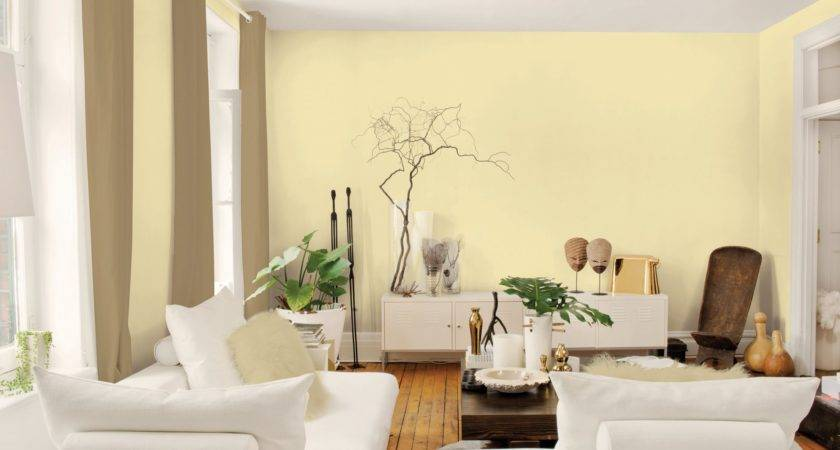 Best Room Colors Modern Interior Design Yellow Wall Paint White