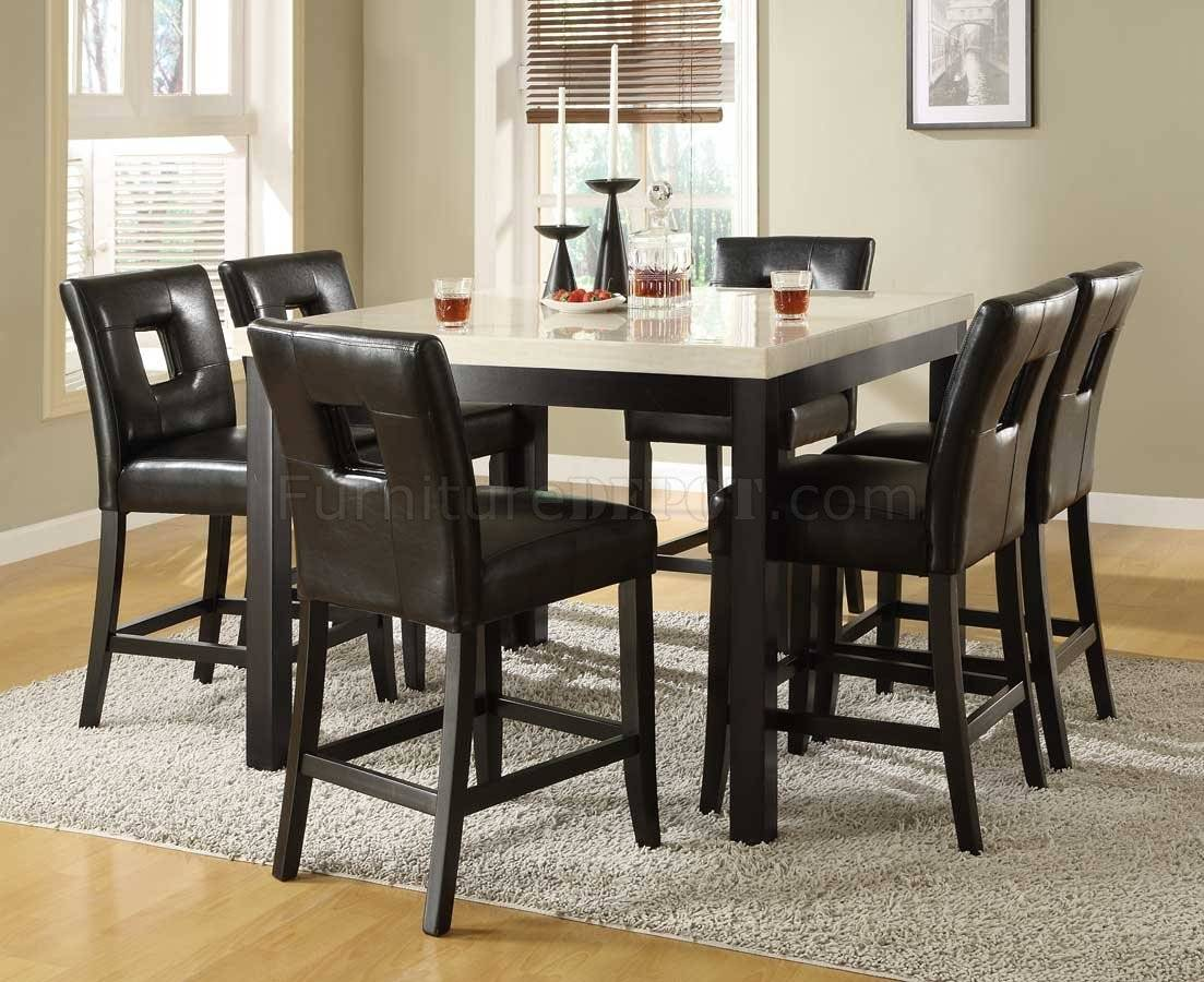 Black Counter Height Kitchen Table Set Tables Sets