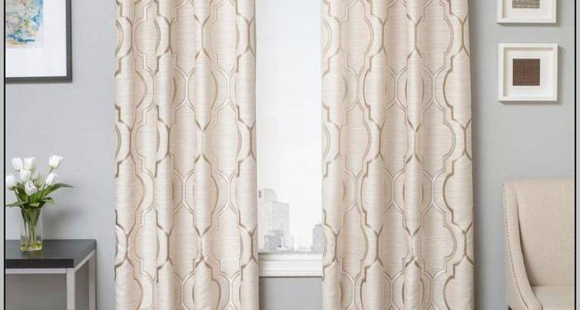 Blackout Curtains Inches Long Painting Post
