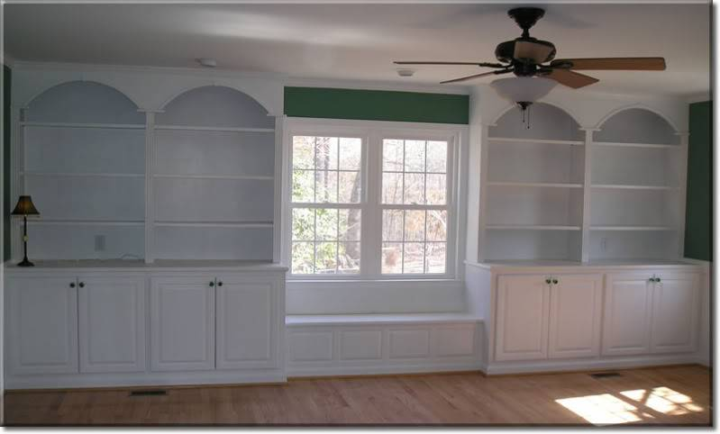 Bookcases Window Seat Carpentry Post Contractor Talk