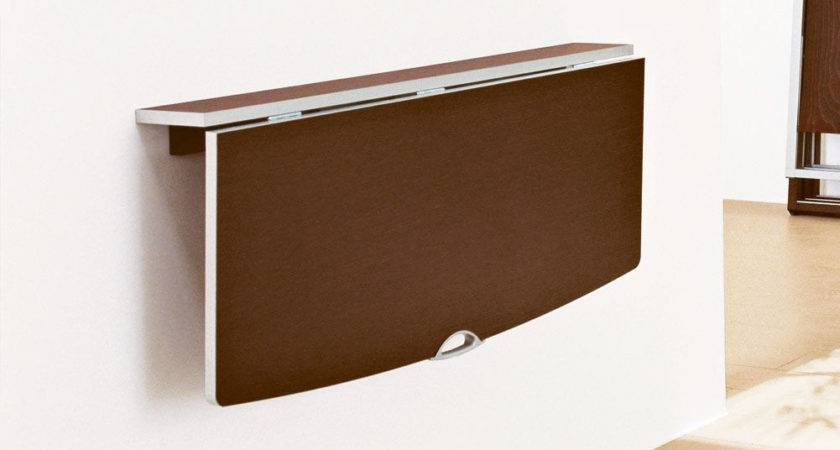 Brown Wall Folding Table Ideas Homefurniture