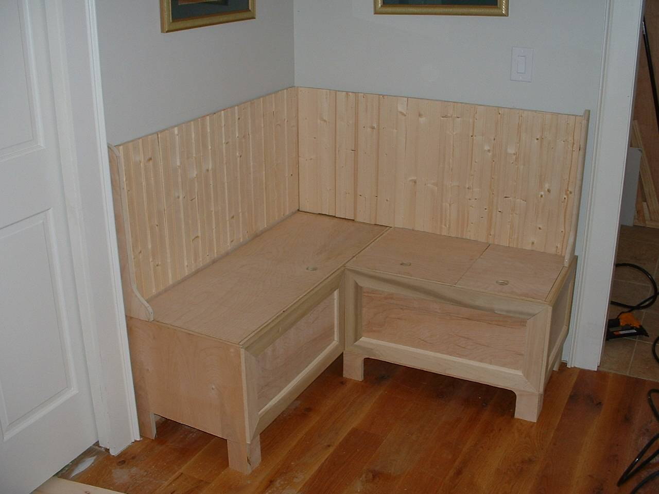 Built Banquette Seating Kitchen