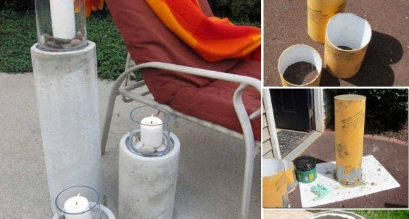 Cool Modern Diy Concrete Projects