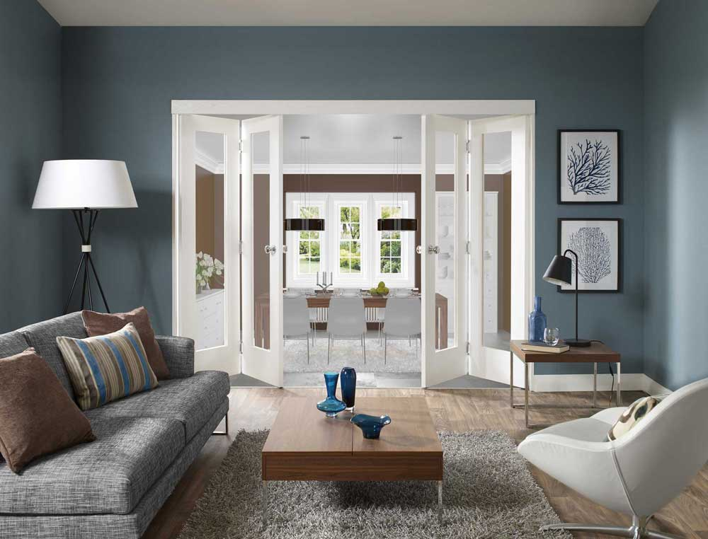 Cotswold Collection White Freefold Doors