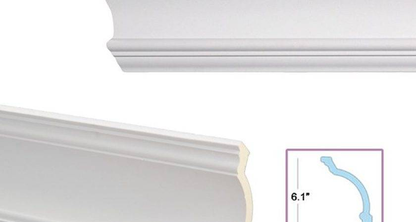 Cove Inch Crown Molding Overstock Shopping Big