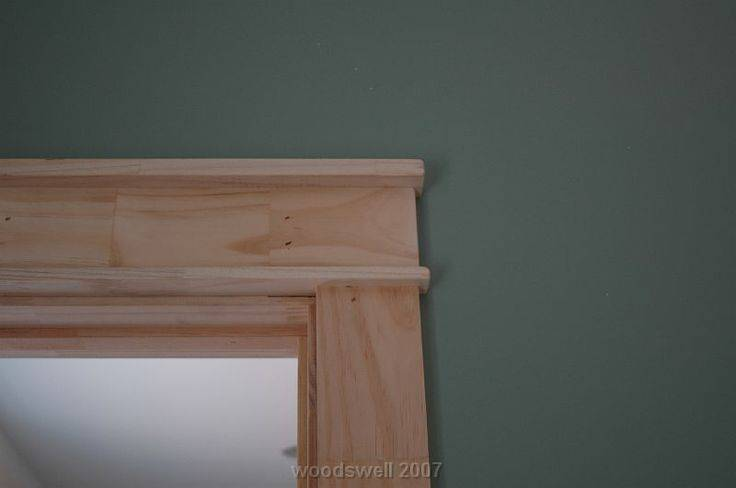 Craftsman Style Window Trim Door Frames Homes