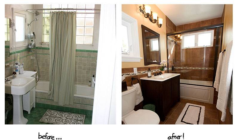 Creatini Real Estate Amazing Before After Bathroom Renovations