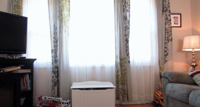 Curtains Large Window Curtain Rods