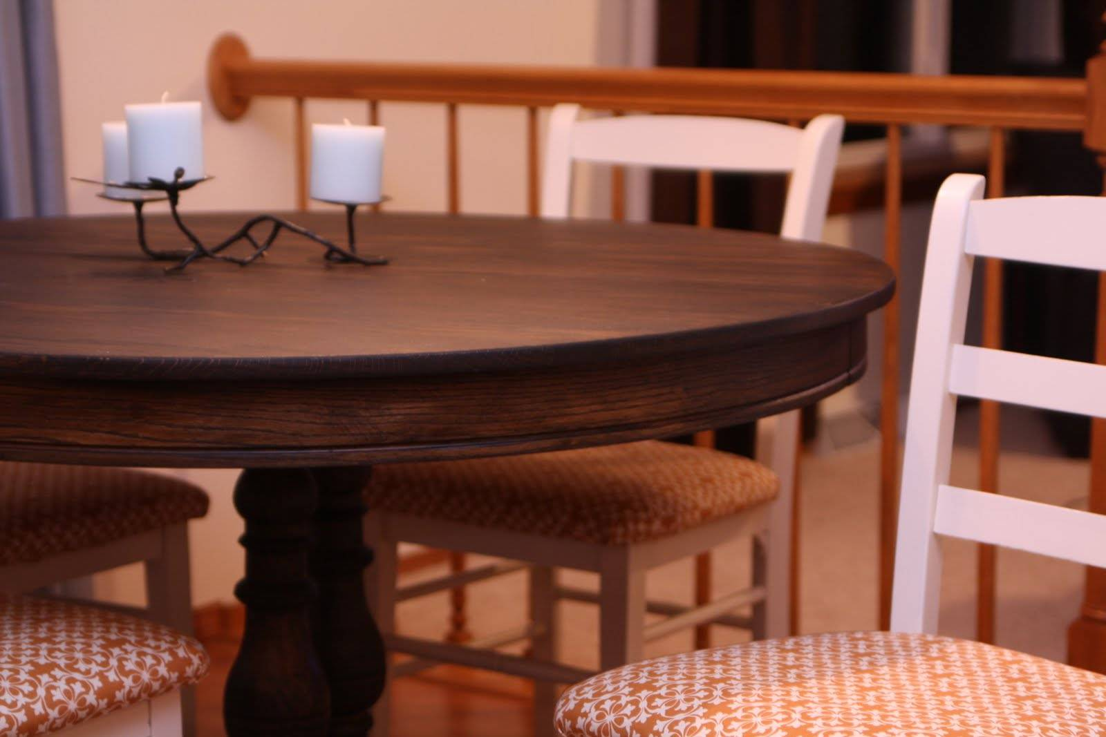 Decorating Dorchester Way Refinished Dining Room Table Chairs