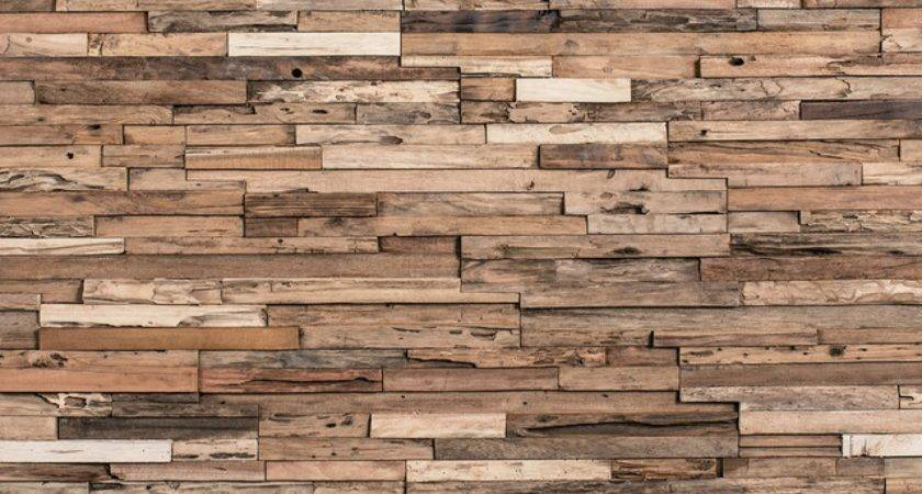 Decorative Wall Ideas Rustic Wood Covering Panels