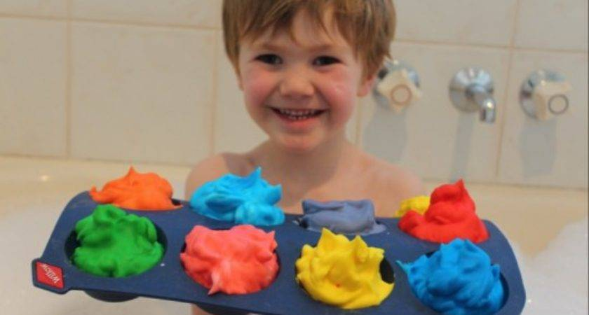Diy Bath Paint Great Fun Time Only Ingredients