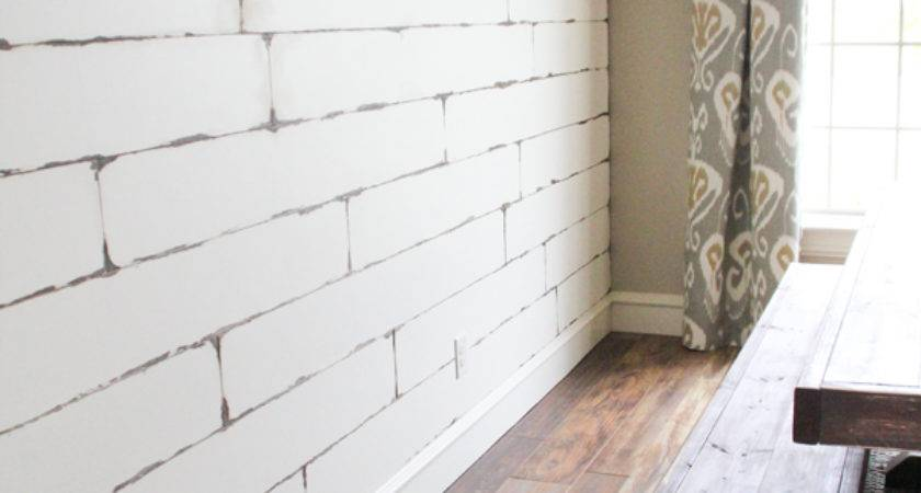 Diy Distressed Plank Wall Shanty Chic