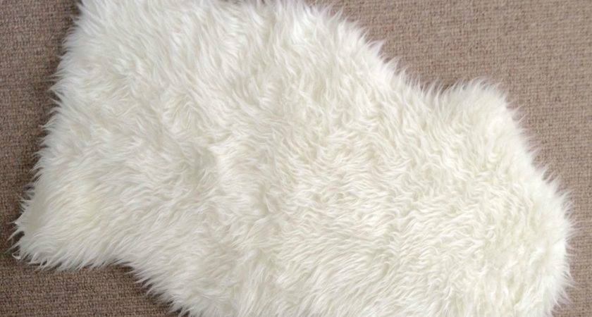 Diy Faux Sheepskin Pillow Driven Decor