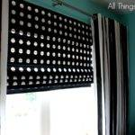Diy Roman Shades Wide Windows Using Mini Blinds