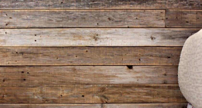 Diy Wood Fence Plank Wall Tutorial Dimples Tangles