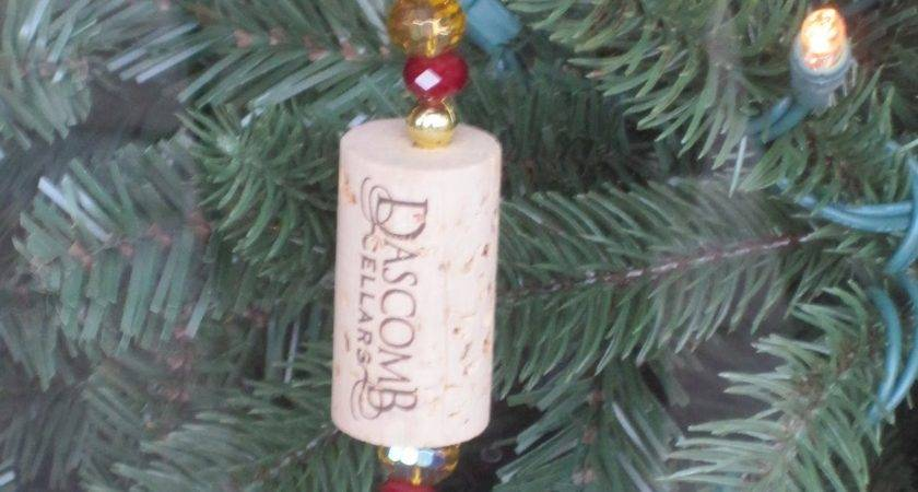 Dog Life Wine Cork Ornaments