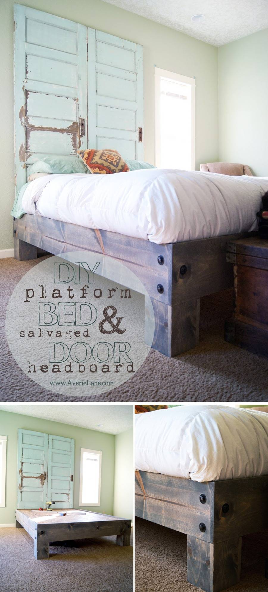 Easy Diy Bed Frame Projects Upgrade Your Bedroom