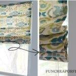 Easy Diy Sew Roman Shades Fun Cheap