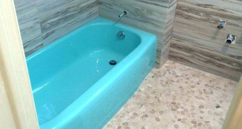 Epoxy Paint Fiberglass Shower Tile Large
