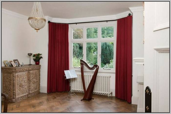Extra Wide Double Curtain Rods Curtains Home Design