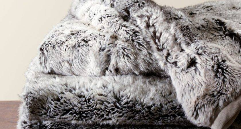 Faux Sheepskin Throw Chasing Luxury Fashionable Look