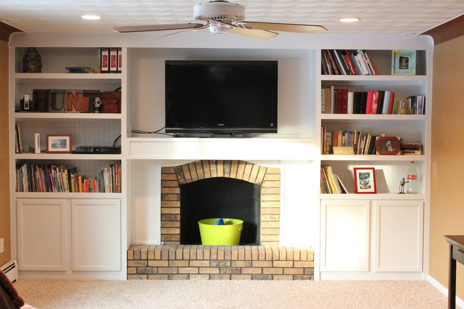 First Class Fireplace Makeover Diy Show Off Decorating