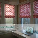 Flashback Friday Diy Sew Roman Shades Made Style