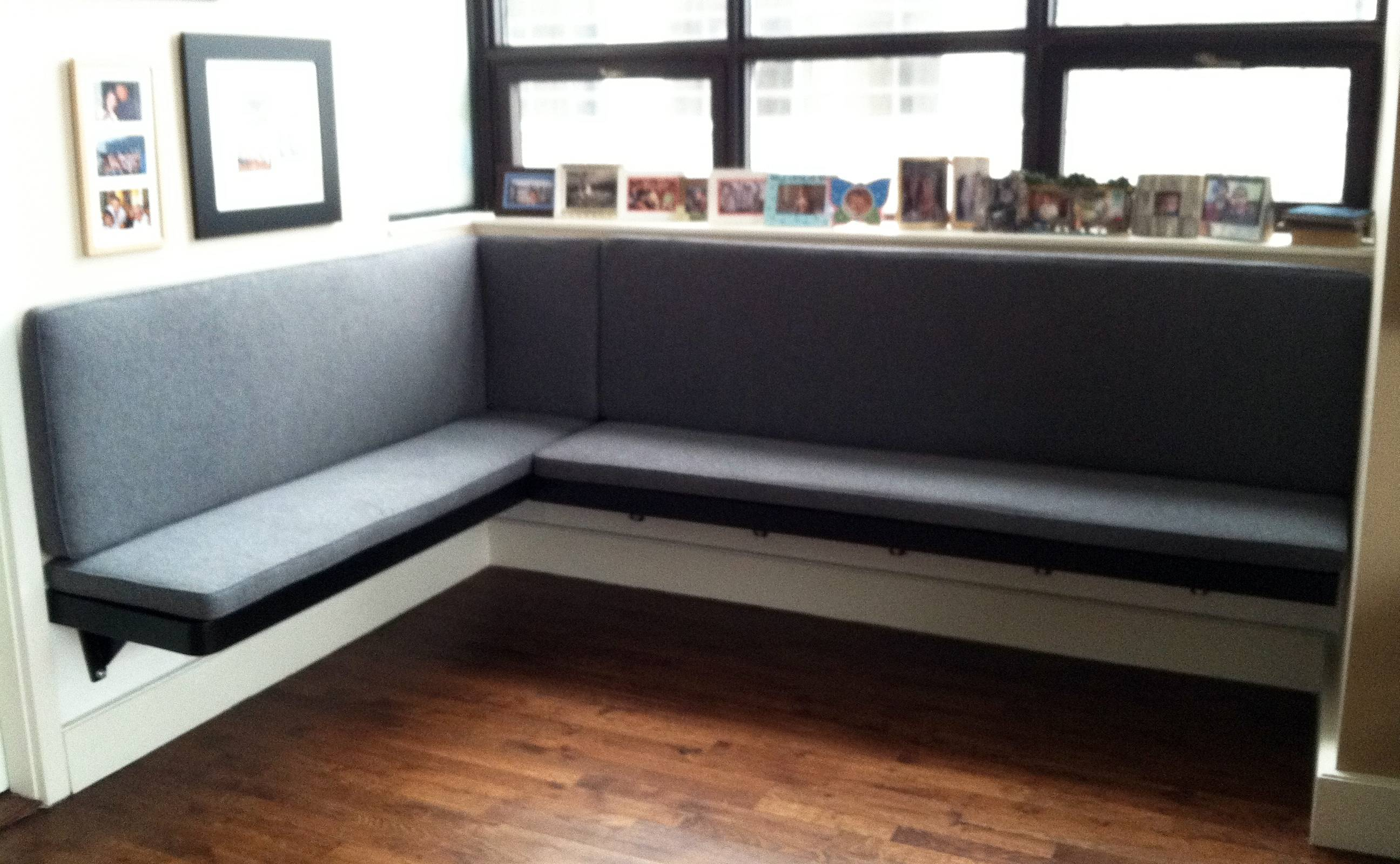 Floating Banquette Table