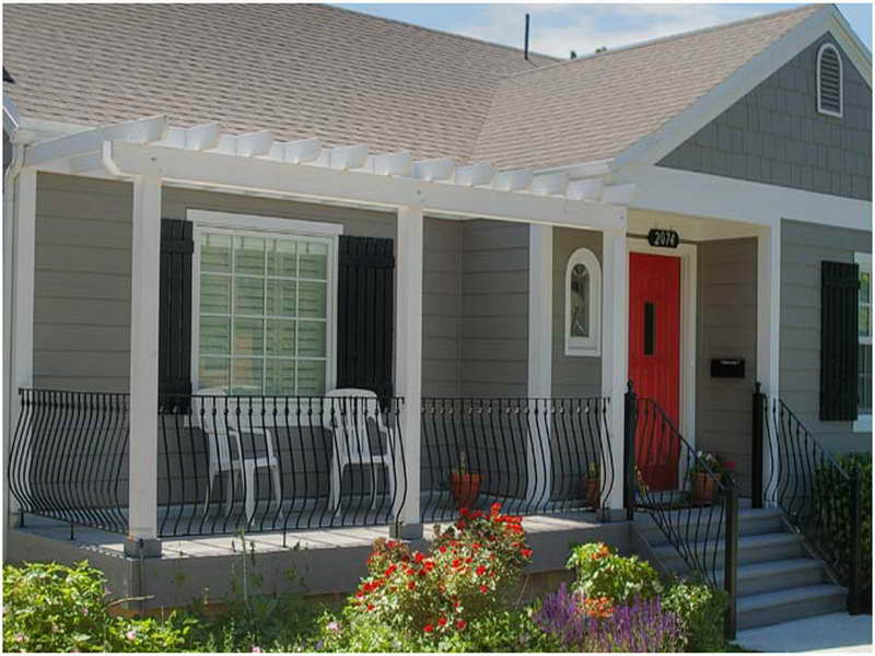 Front Porch Designs Ideas Back Rainy Day