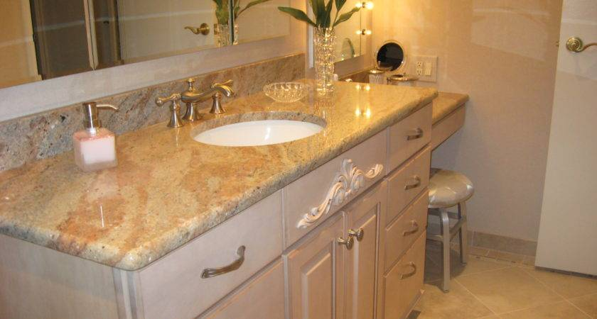 Granite Bathroom Countertops Ideas Good Idea