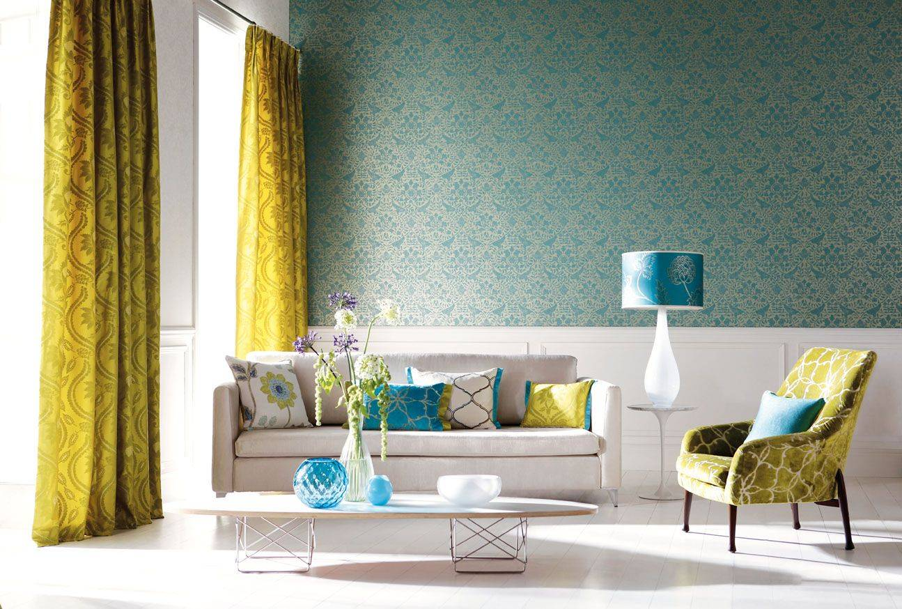 Gray Yellow Teal Living Room Info Home Furniture
