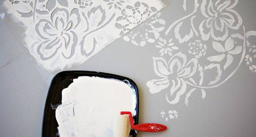 Great Instructions Paint Your Own Floor Stencil Design