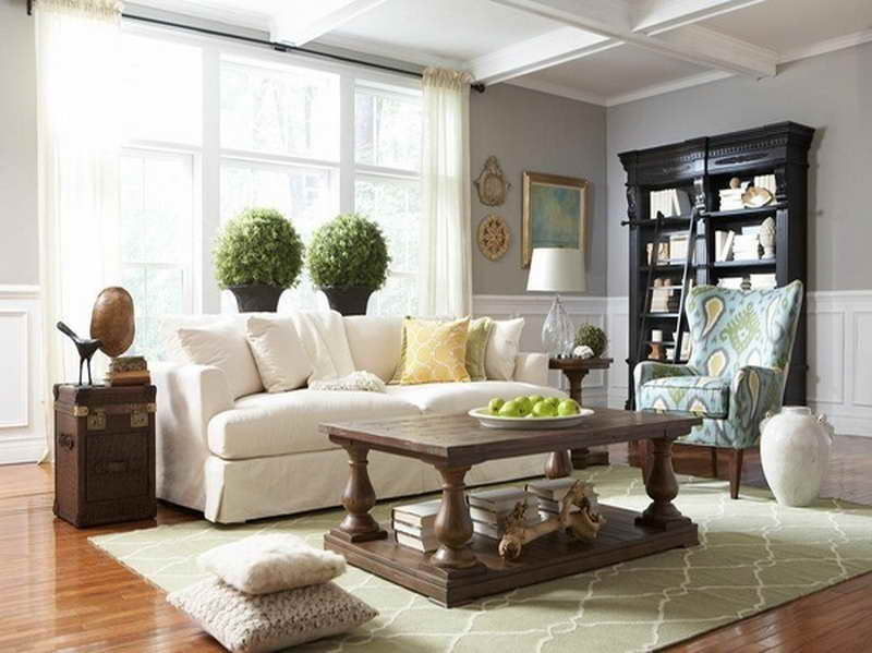 Grey Paint Colors Most Popular White Sofa
