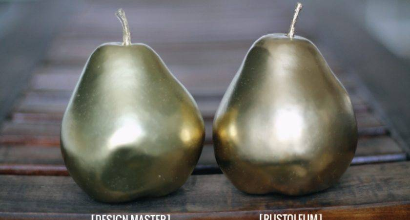Here Our Pears After Each Few Thin Coats They Fully Dried