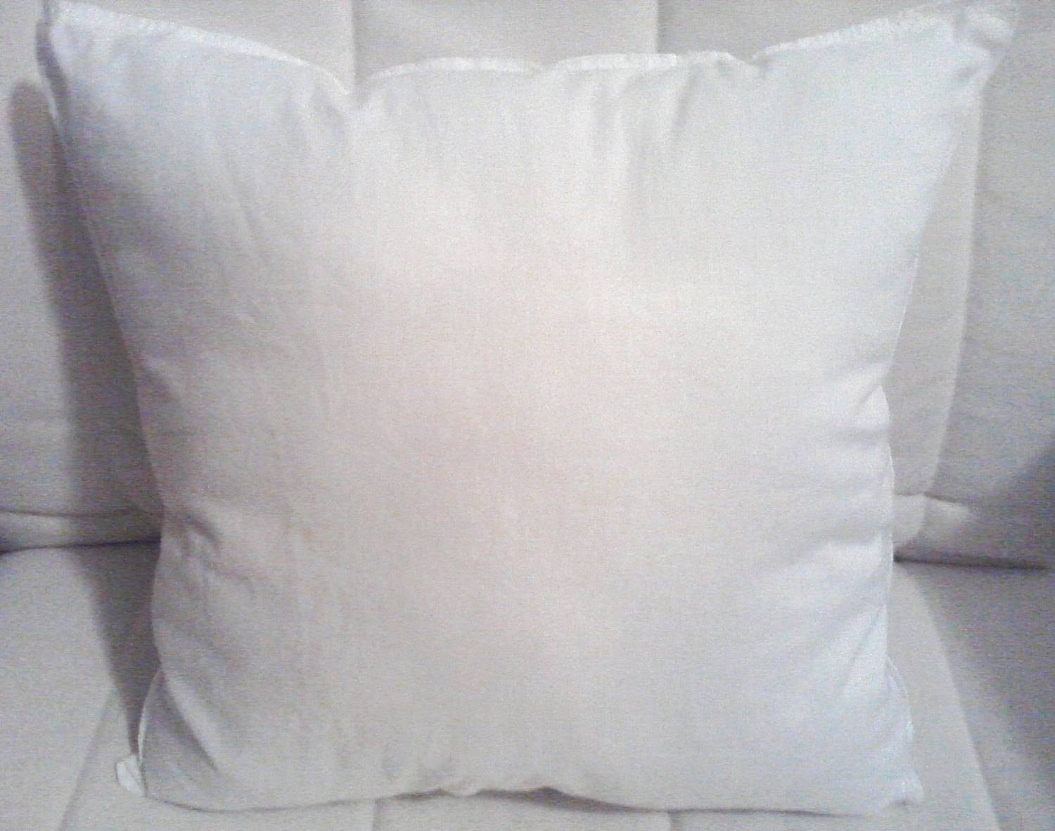 High Quality Pillow Inserts Forms Made Ahappylittleplace