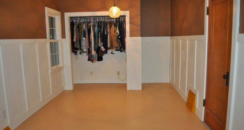 Home Downstairs Bedroom Operation Particle Board Floors Success