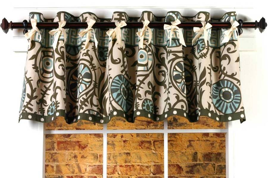 Home Show Curtain Patterns Melissa Valance Sewing Pattern
