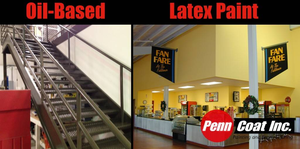 Industrial Painting Oil Based Latex Paint Penncoat Inc Blog