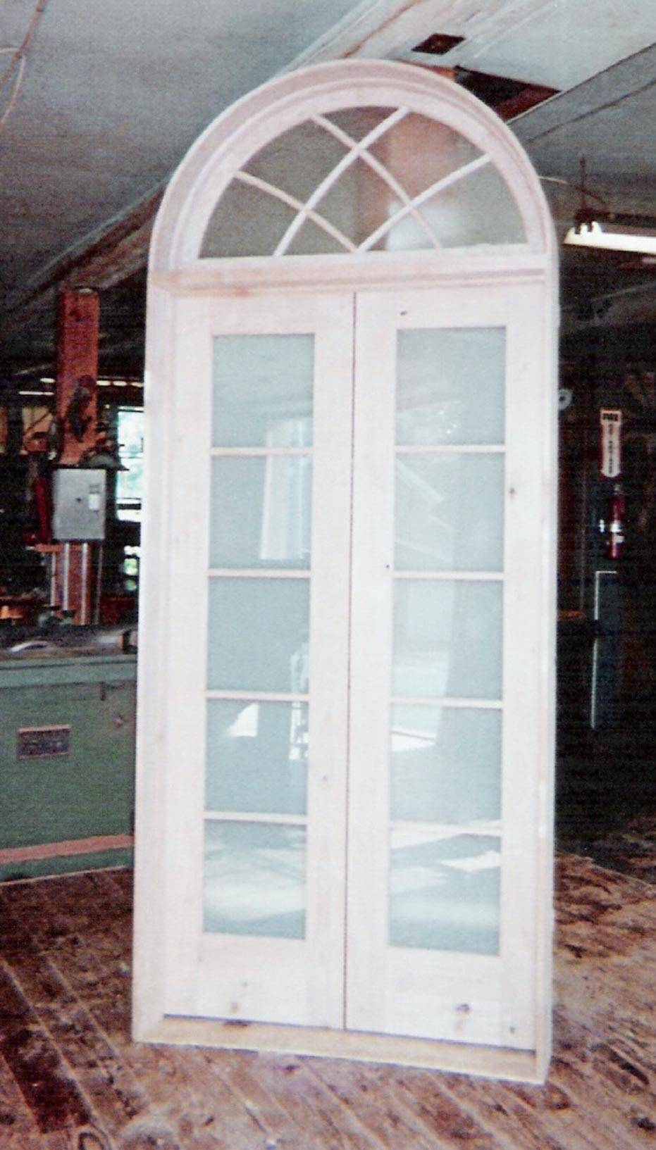 Interior Storm Doors French Frosted Glass