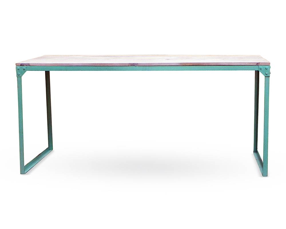 Iron Dining Table Turquoise Tables Interiors