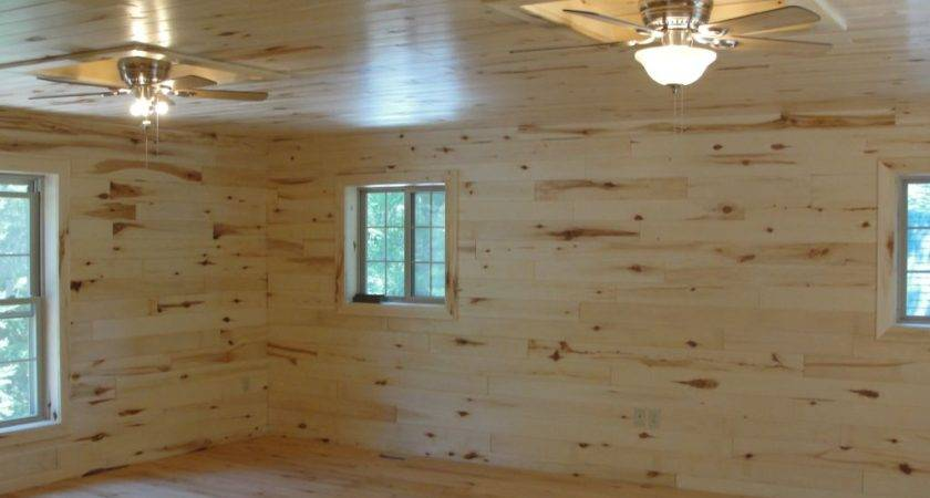 Knotty Pine Paneling Tongue Amp Groove Woodhaven Log Lumber