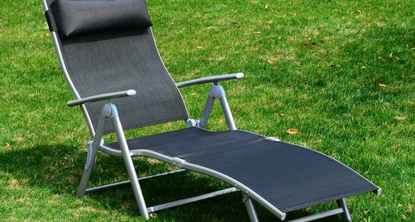 Lounge Chair Zero Gravity Folding Chaise Beach Portable