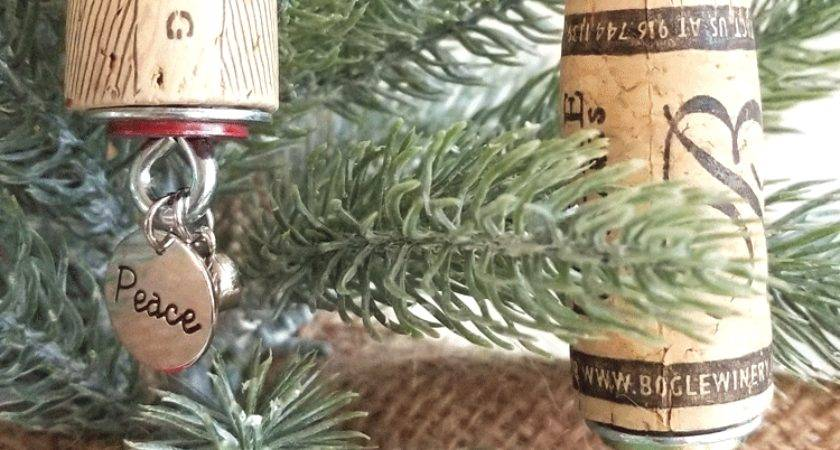 Make Diy Wine Cork Ornaments Your Tree