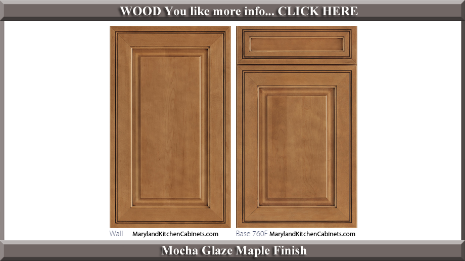 Maple Cabinet Door Styles Finishes Maryland Kitchen Cabinets
