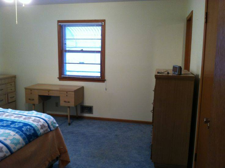 Master Bedroom Repainted Now Pull Ugly Blue Carpet