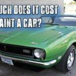 Much Does Cost Paint Car Youtube